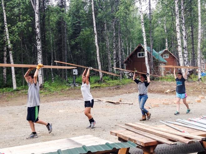 Camping, Alaska, Talkeetna, Youth Corps