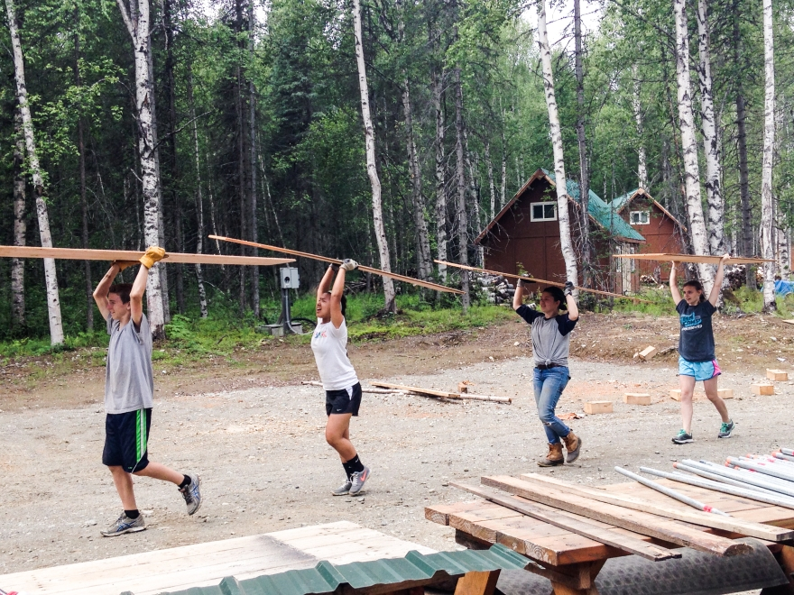 Camping, Alaska, Talkeetna, Youth Corps