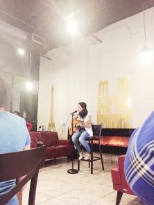 My first open mic night!