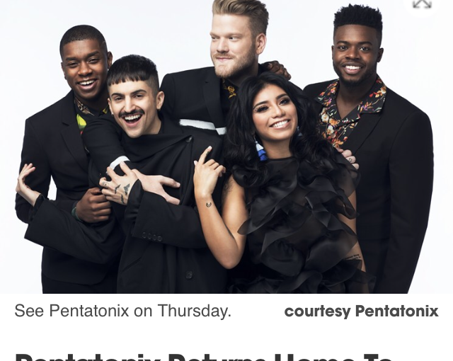 Interviews with Kevin from Pentatonix and Kristian from Sugarland